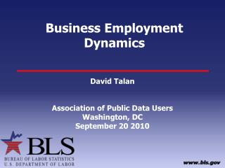 Business Employment Dynamics