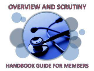 OVERVIEW AND SCRUTINY
