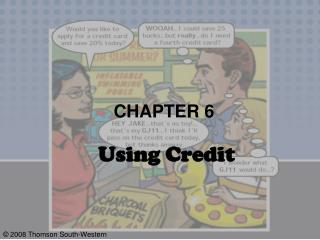 CHAPTER 6  Using Credit