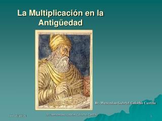 La Multiplicación en la Antigüedad