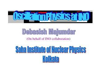Oscillation Physics  at  INO