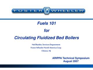 Fuels 101 for Circulating Fluidized Bed Boilers