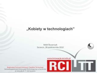 """""""Kobiety w technologiach"""""""
