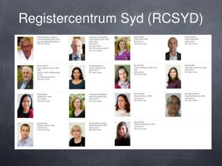 Registercentrum Syd (RCSYD)