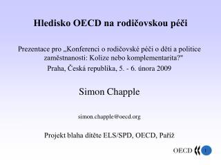 Hledisko OECD na rodi?ovskou p�?i