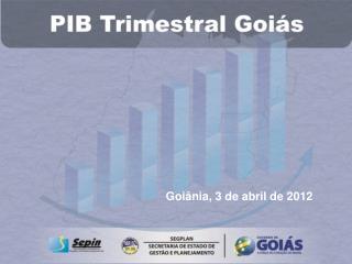 Goiânia, 3 de abril de 2012