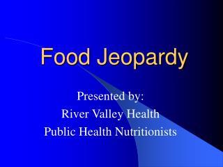 Food Jeopardy