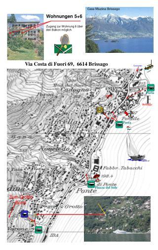 Via Costa di Fuori 69,  6614 Brissago