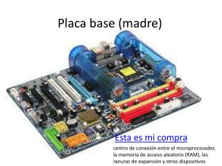 Placa base (madre)