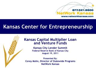 Kansas Center for Entrepreneurship