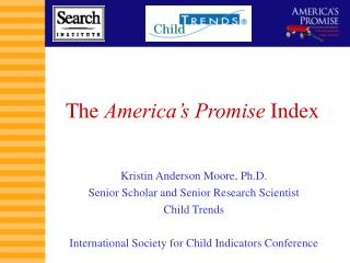 The  America's Promise  Index