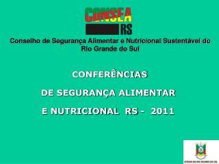 Conselho de Segurança Alimentar e Nutricional Sustentável do  Rio Grande do Sul