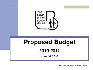 Proposed Budget 2010-2011 June 14, 2010