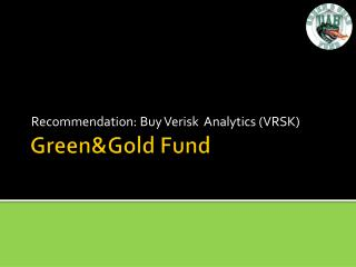 Green&Gold  Fund