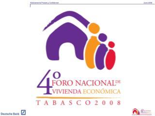 Foro Nacional de Vivienda Económica