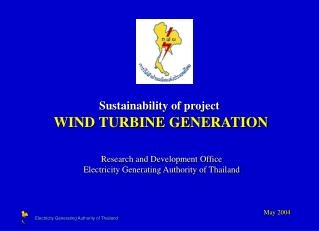 Sustainability of project WIND TURBINE GENERATION