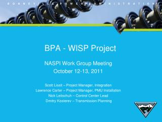 BPA - WISP Project