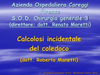 Congresso Nazionale  ACOI - Montecatini Terme  2005