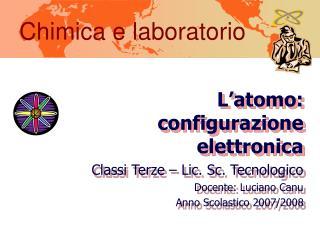 Chimica e laboratorio