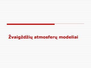 Žvaigždžių atmosferų modeliai