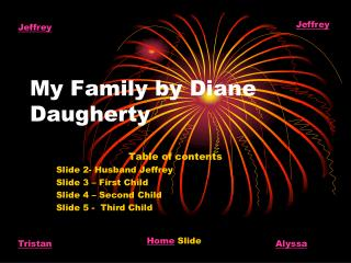My Family by Diane Daugherty