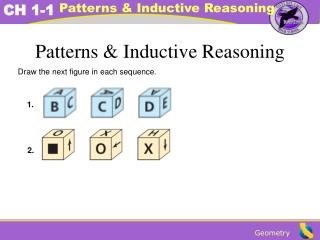Patterns & Inductive Reasoning