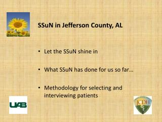 SSuN in Jefferson County, AL