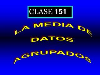 CLASE  151