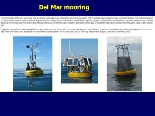 Del Mar mooring