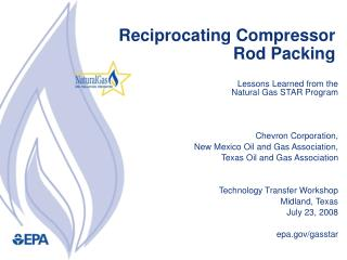 Reciprocating Compressor Rod Packing