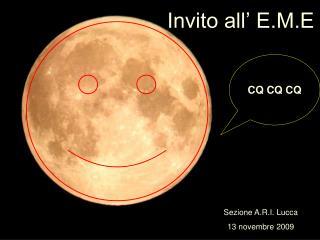 Invito all� E.M.E