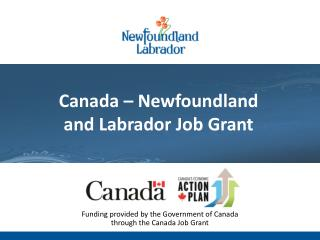Newfoundland and Labrador Labour Market:  Outlook 2020 Technical Briefing: July 13, 2011