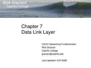 Chapter 7 Data Link Layer
