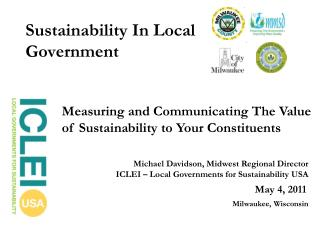 Sustainability In Local Government