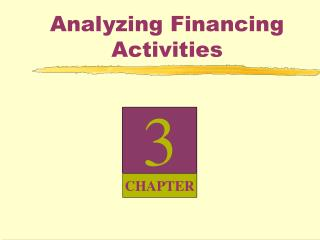 Analyzing Financing Activities