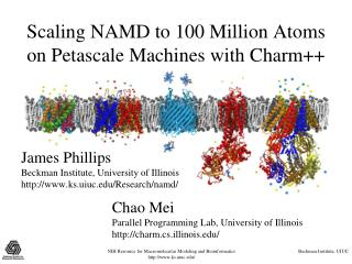 Scaling NAMD to 100 Million Atoms on Petascale Machines with Charm++