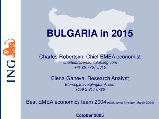 Charles Robertson, Chief EMEA economist charles.robertson@ukg +44 20 7767 5310