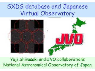 SXDS database and Japanese Virtual Observatory