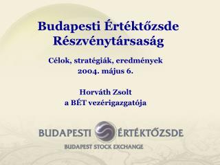 Budapesti Értéktőzsde Részvénytársaság