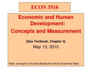 ECON 3510