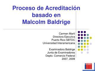 Carmen Martí Directora Ejecutiva  Puerto Rico SBTDC Universidad Interamericana