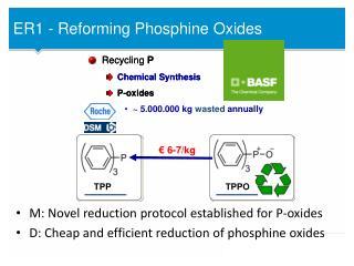 ER1 - Reforming  Phosphine  Oxides