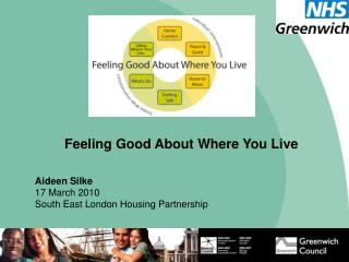 Feeling Good About Where You Live Aideen Silke 17 March 2010 South East London Housing Partnership