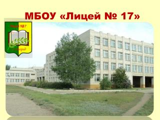 МБОУ «Лицей № 17»