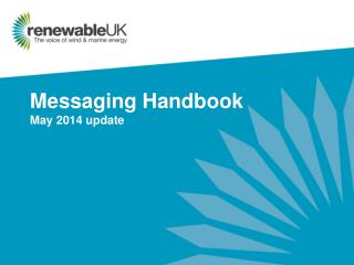 Messaging Handbook May 2014 update