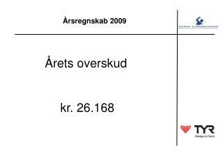 Årsregnskab 2009