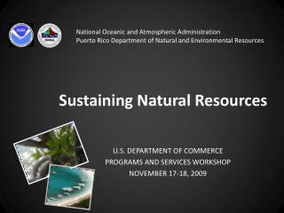 Sustaining Natural Resources