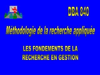 DBA 840