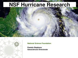 NSF Hurricane Research