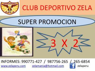 CLUB DEPORTIVO ZELA